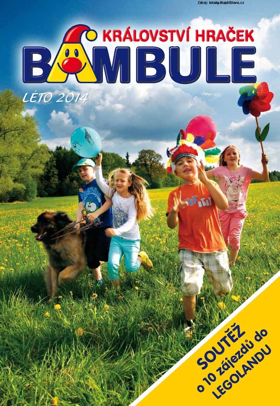 Strana 1 - leták Bambule (1. 6. - 30. 9. 2014)