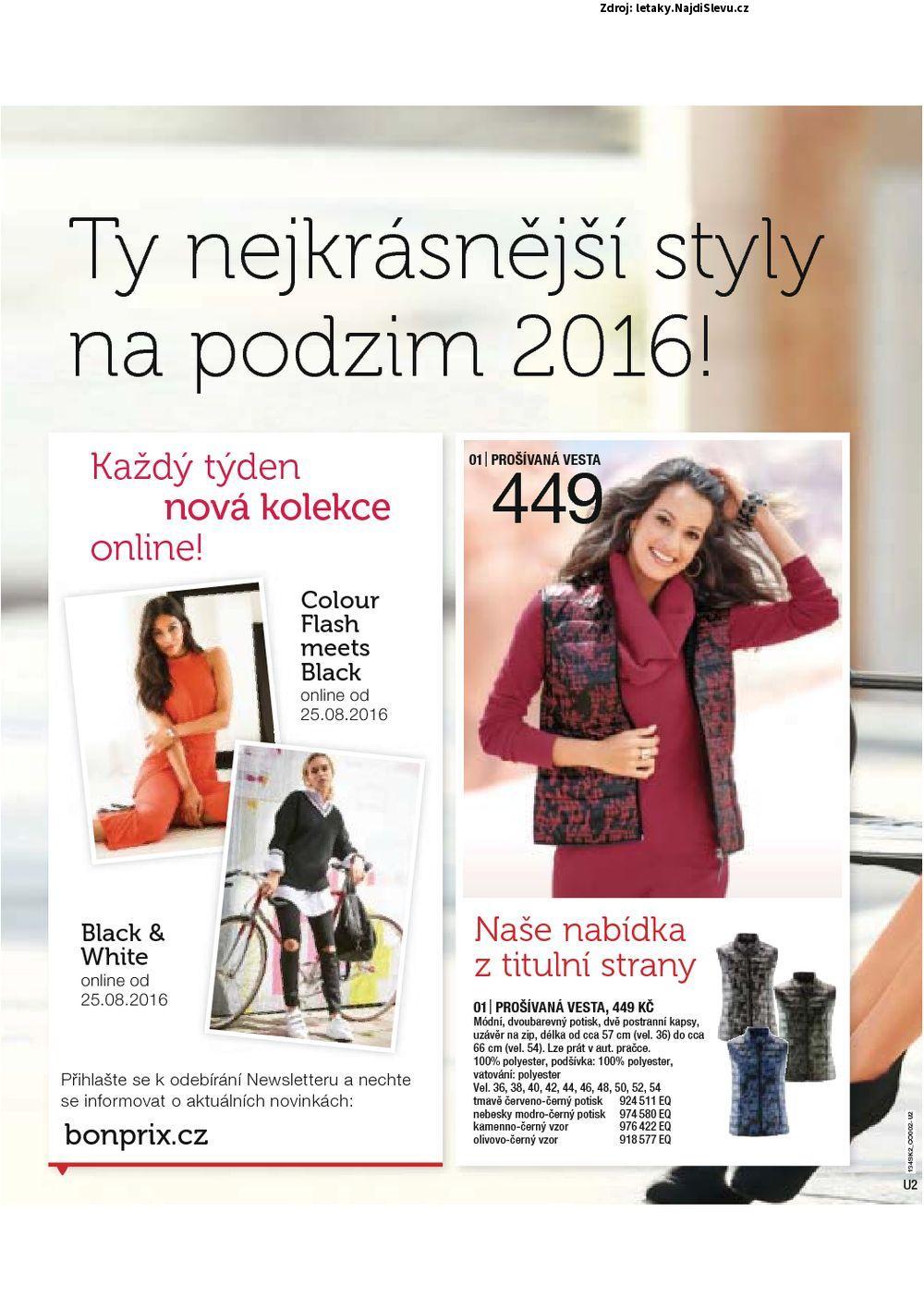 Strana 2 - leták BonPrix (do 7. 3. 2017)
