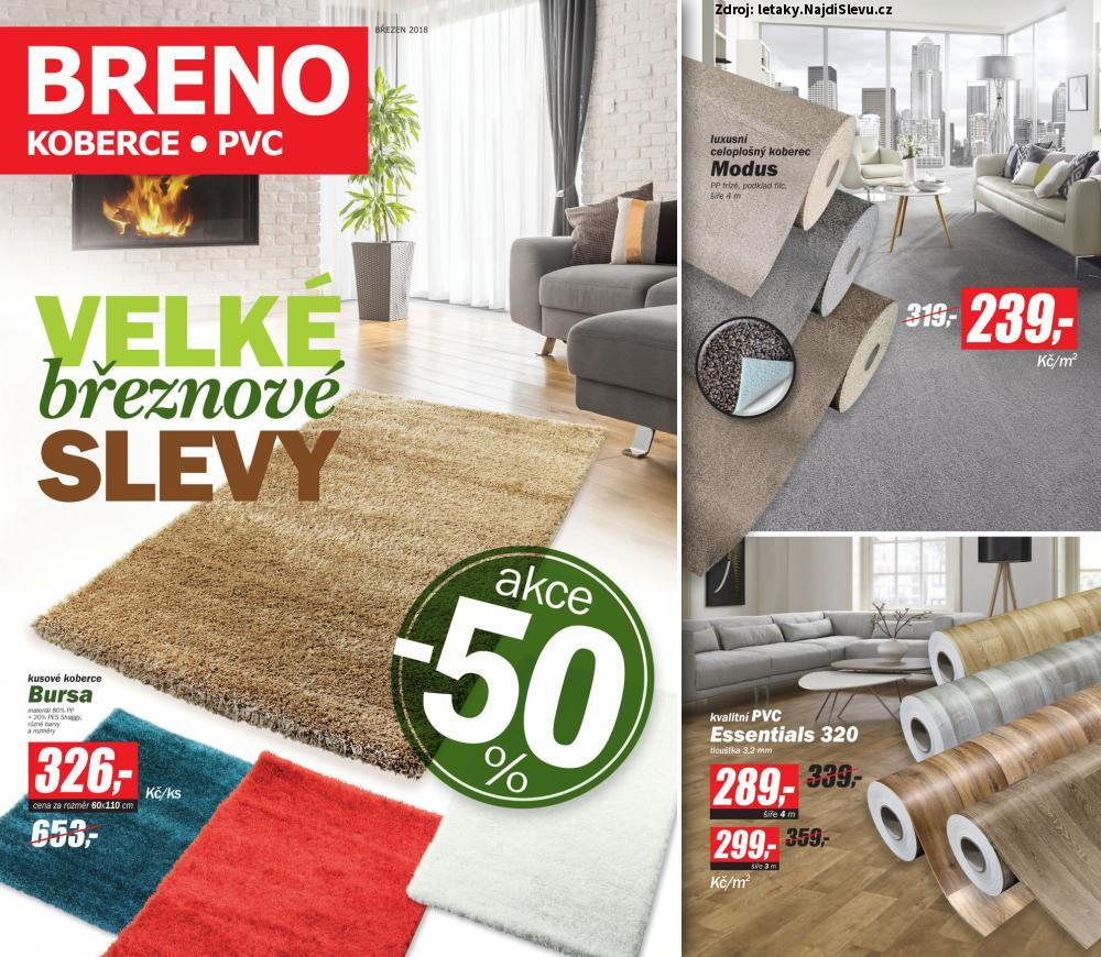 Strana 1 - leták BRENO (1. 3. - 31. 3. 2018)
