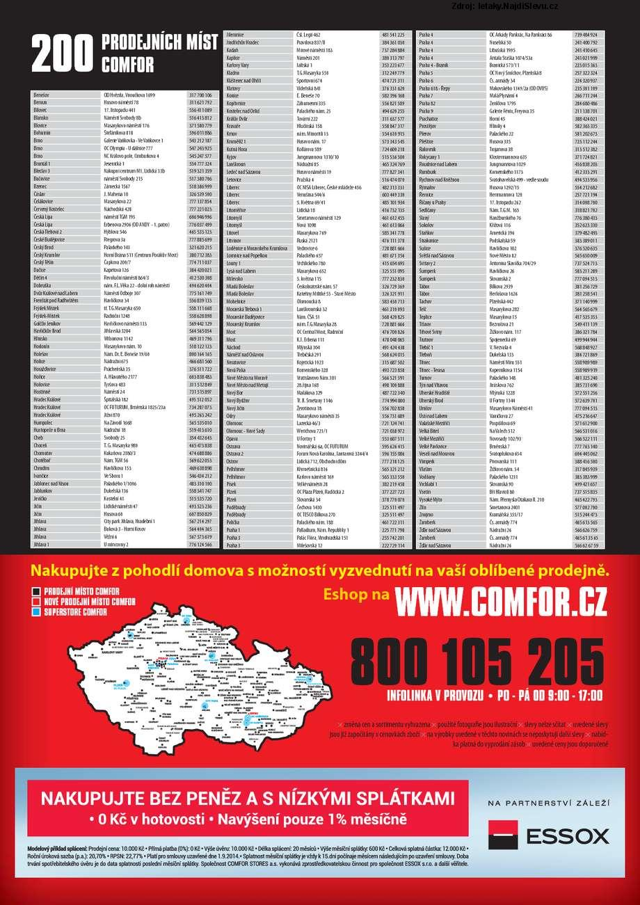 Strana 2 - leták COMFOR (30. 8. - 19. 9. 2014)