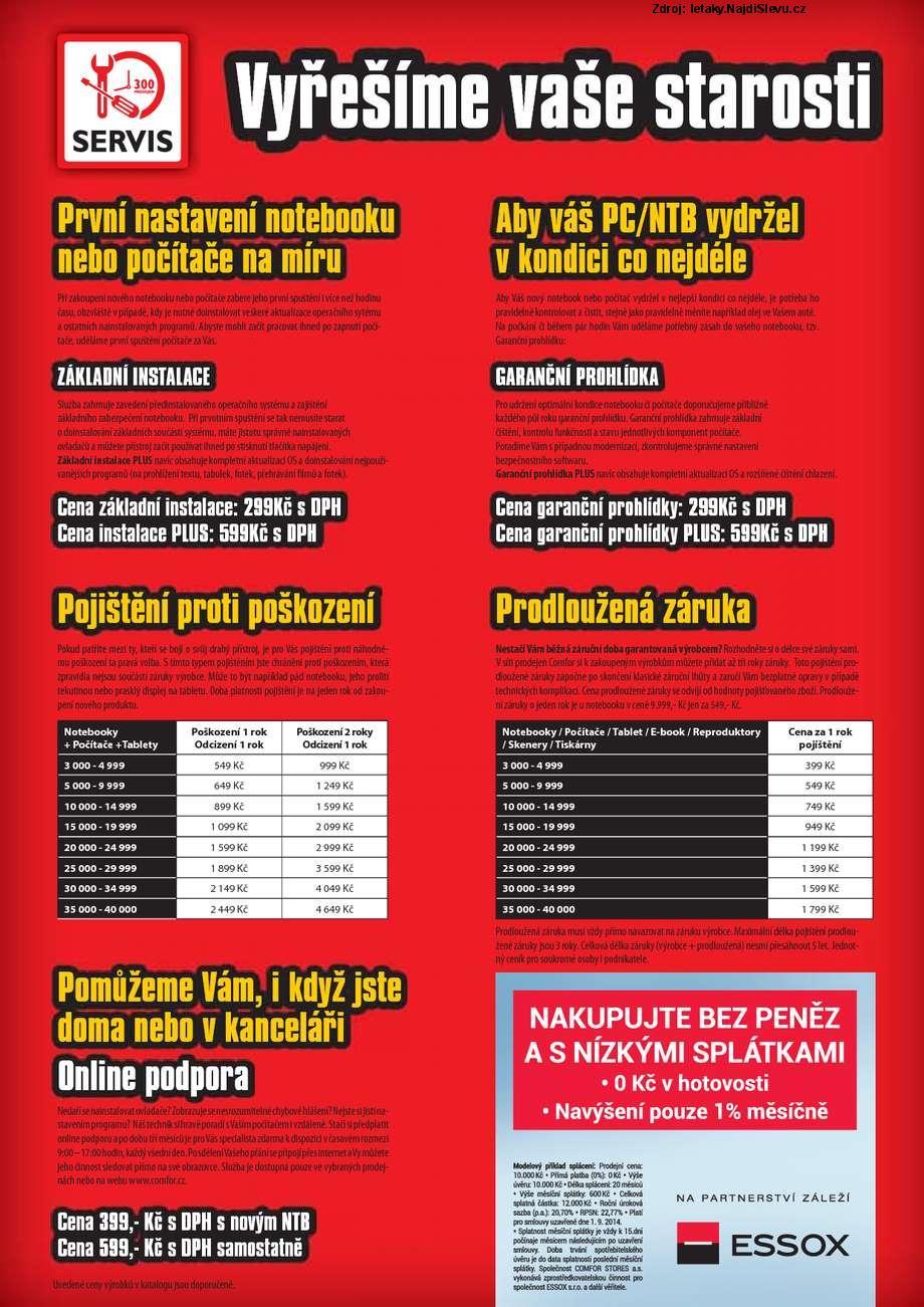 Strana 3 - leták COMFOR (30. 8. - 19. 9. 2014)
