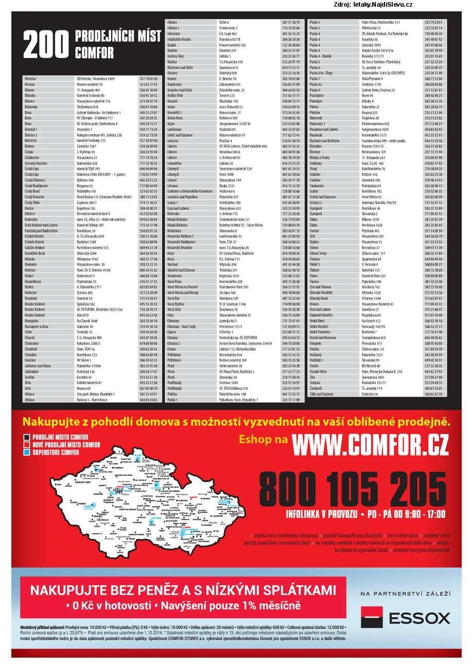 Strana 10 - leták COMFOR (20. 9. - 17. 10. 2014)
