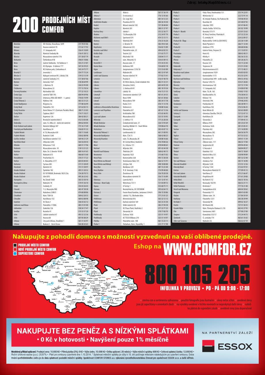 Strana 2 - leták COMFOR (20. 9. - 17. 10. 2014)