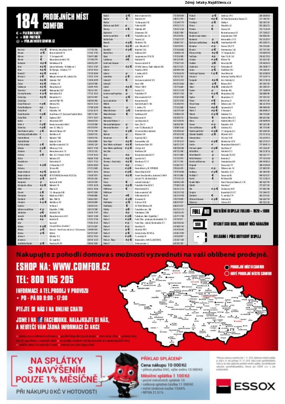 Strana 8 - leták COMFOR (3. 10. - 6. 11. 2016)