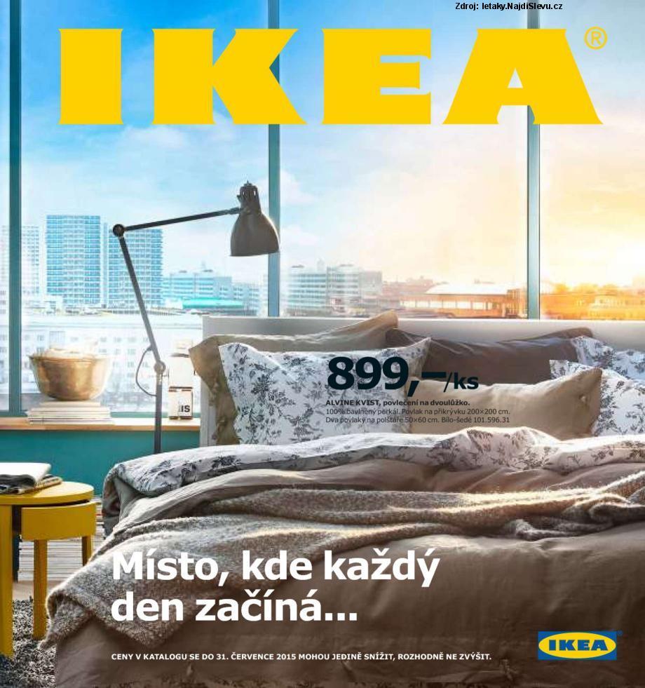 Strana 1 - leták IKEA (1. 9. - 31. 7. 2015 )