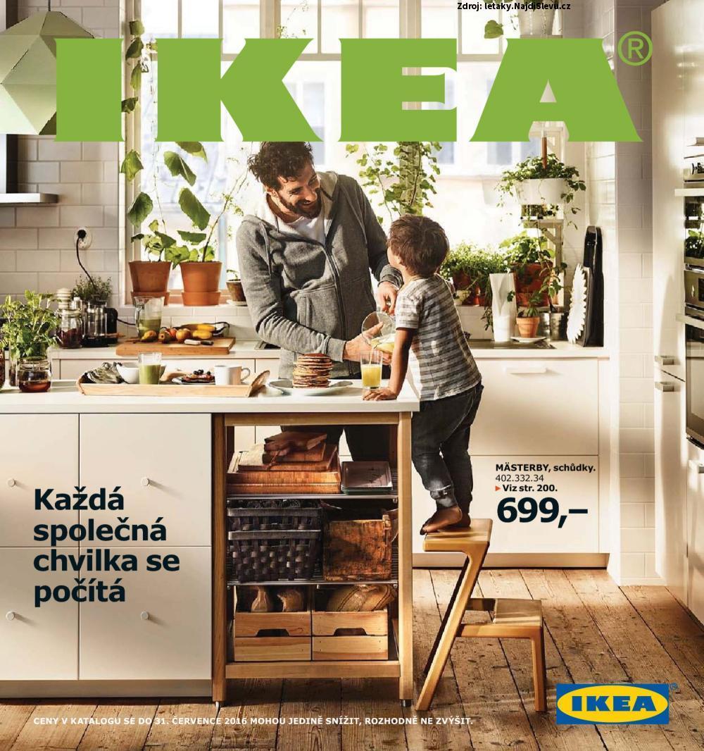 Strana 1 - leták IKEA (do 31.8. 2016)
