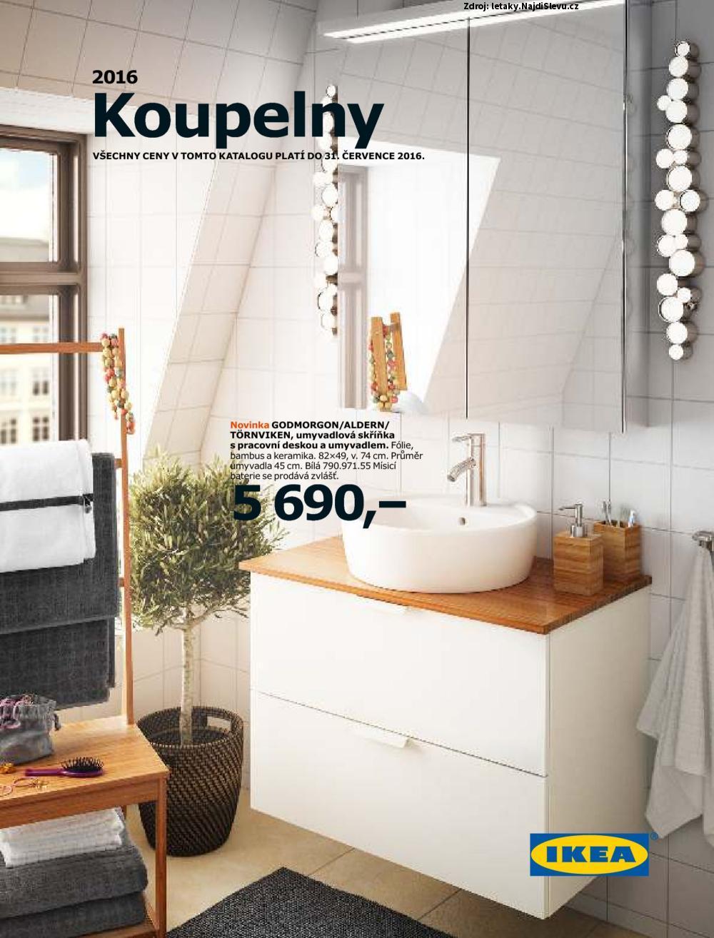 Strana 1 - leták IKEA (do 31. 7. 2016)