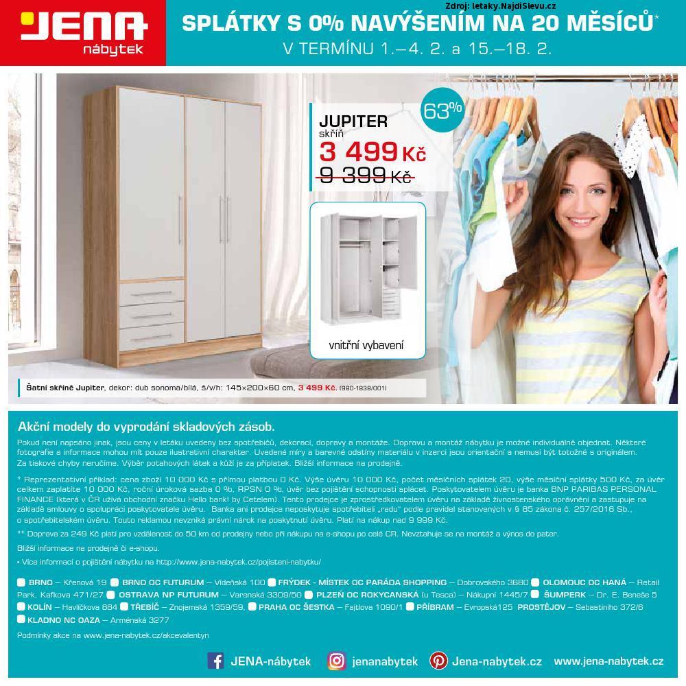 Strana 12 - leták Jena nábytek (29. 1. - 18. 2. 2018)