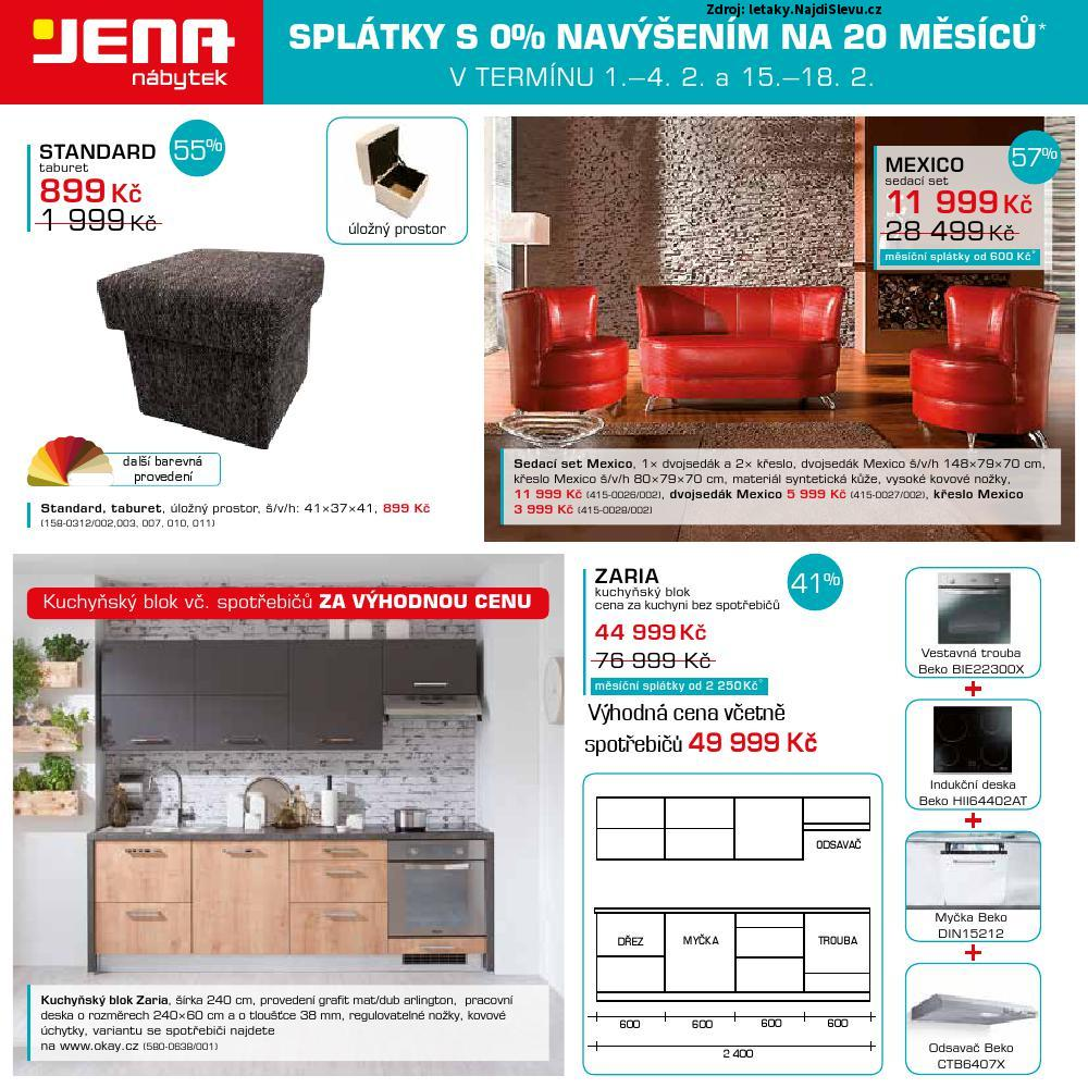 Strana 8 - leták Jena nábytek (29. 1. - 18. 2. 2018)