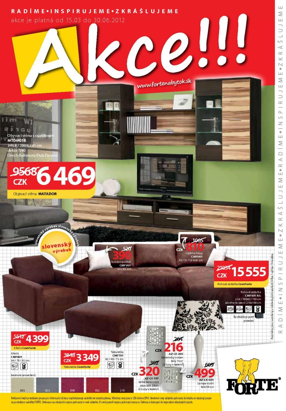 Strana 1 - leták MAX-ORION (15. 3. - 30. 6. 2012)