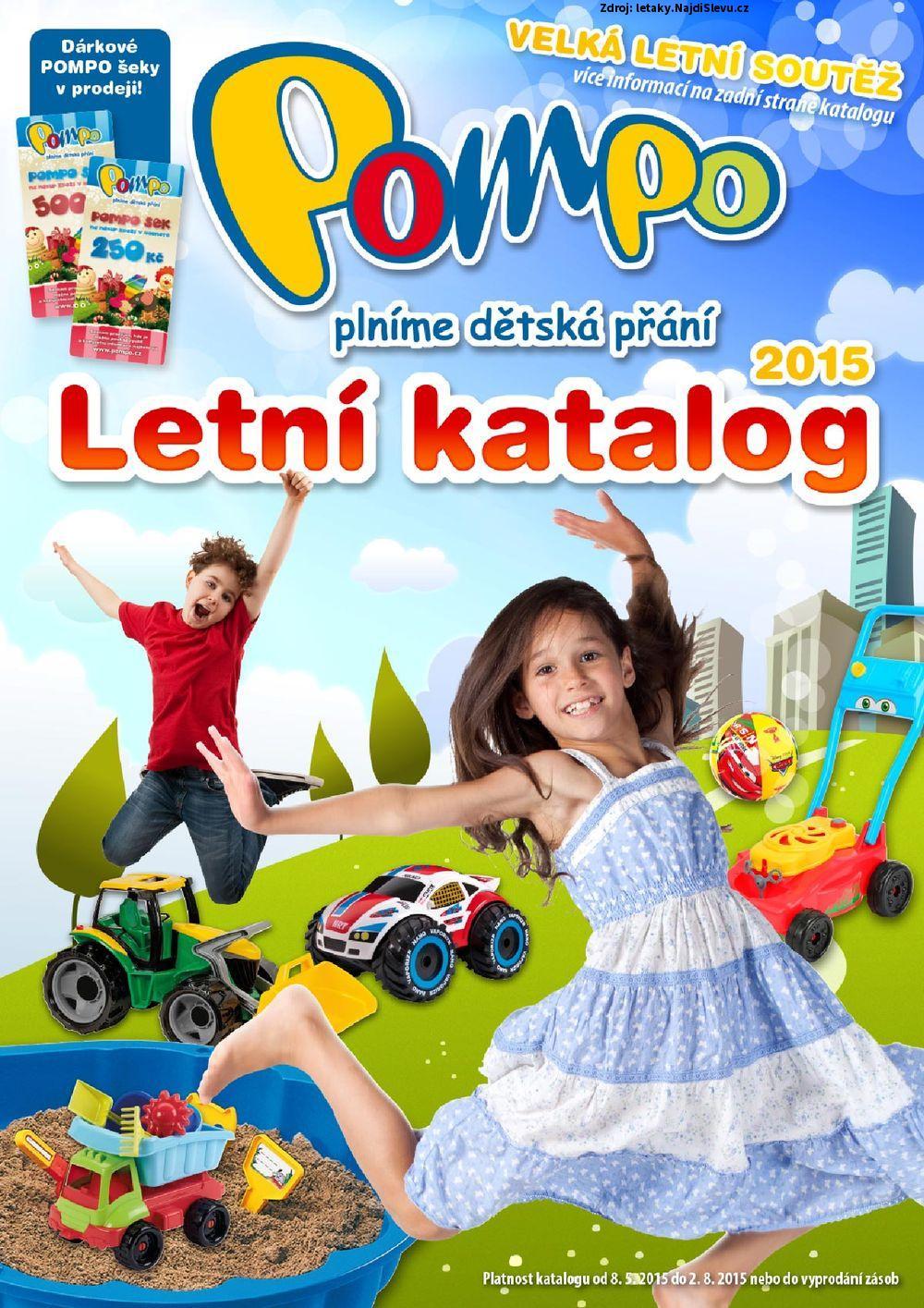 Strana 1 - leták POMPO (8. 5. - 2. 8. 2015)