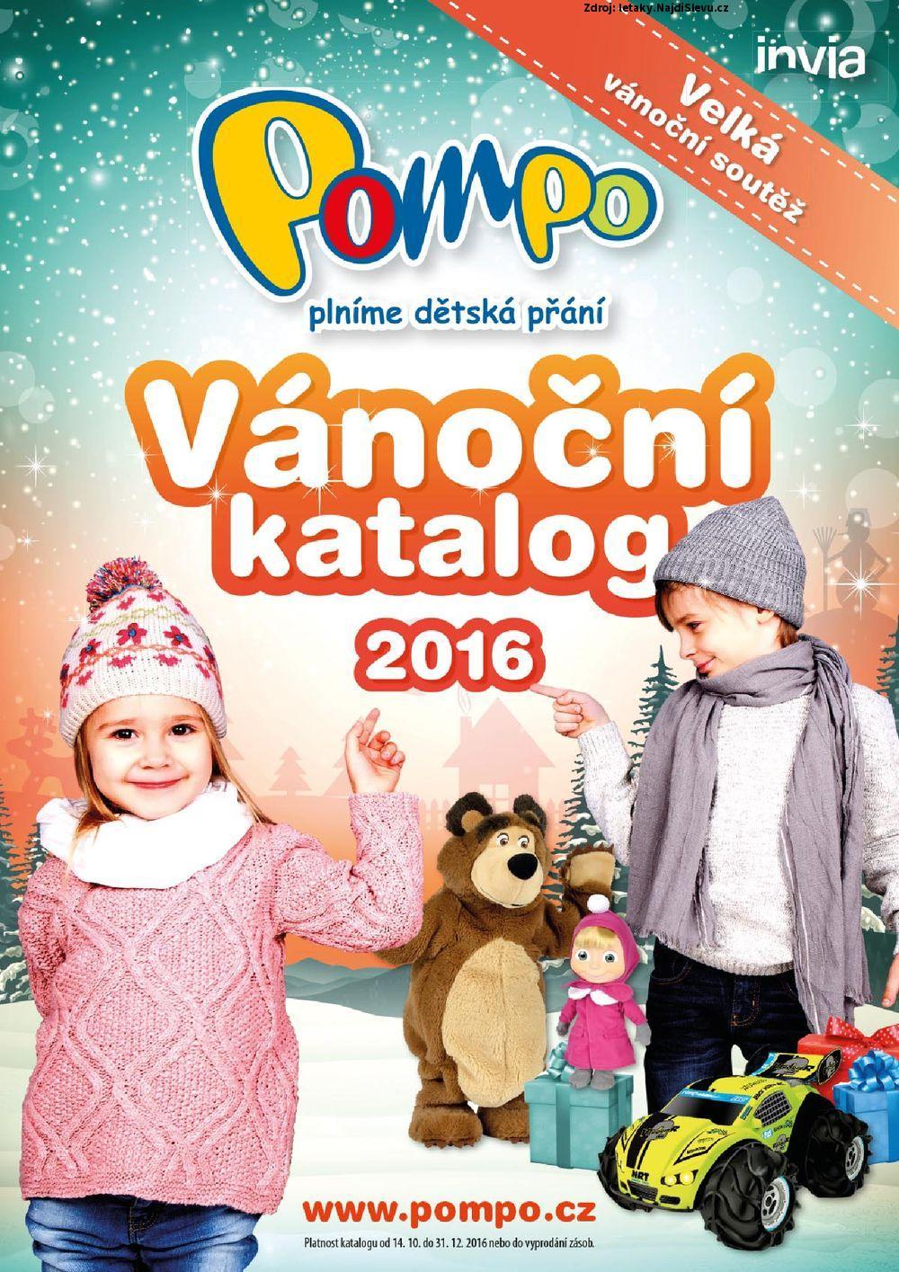 Strana 1 - leták POMPO (14. 10. - 31. 12. 2016)
