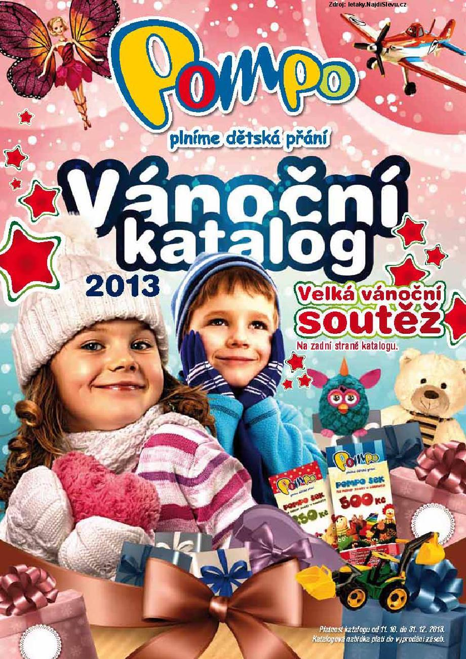 Strana 1 - leták POMPO (11. 10. - 31. 12. 2013)