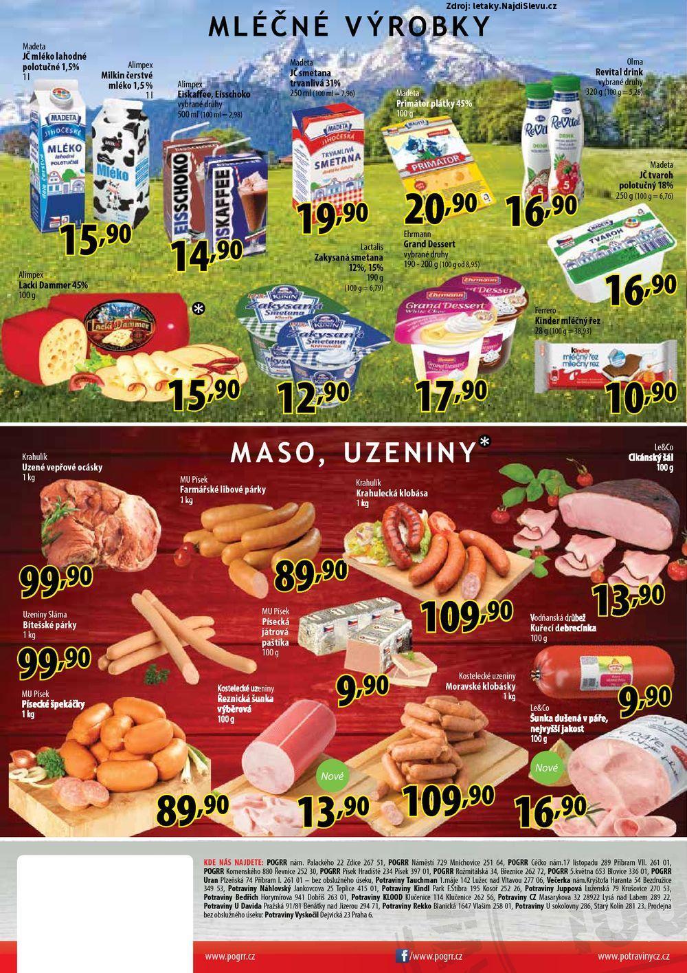 Strana 1 - leták Potraviny CZ (25. 5. - 28. 5. 2017)