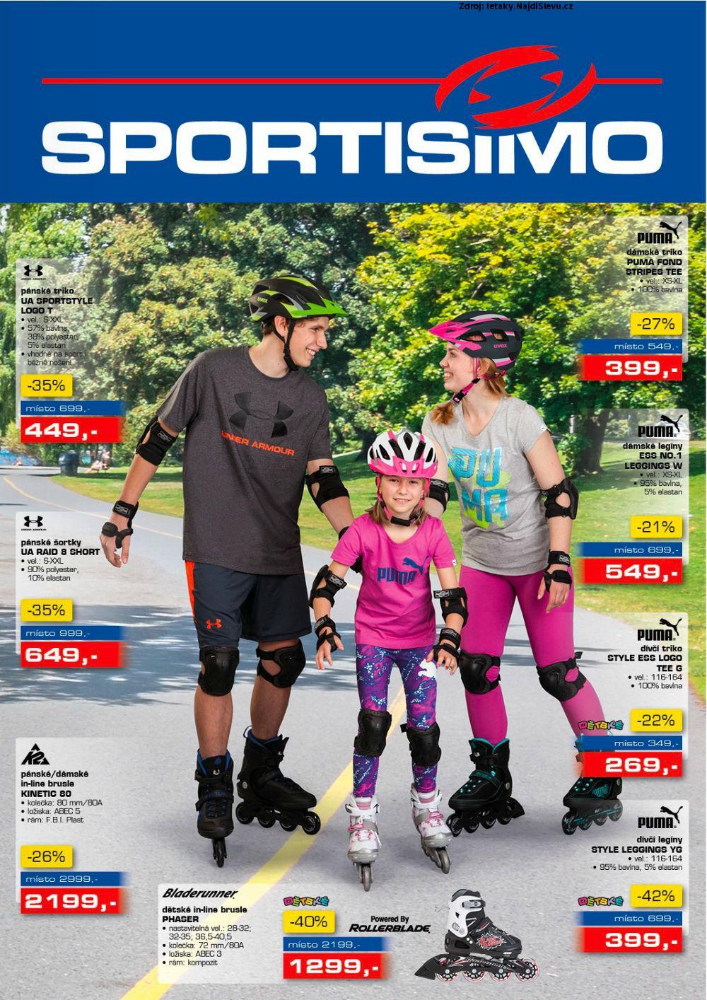 Strana 1 - leták Sportisimo (11. 5. - 24. 5. 2017)