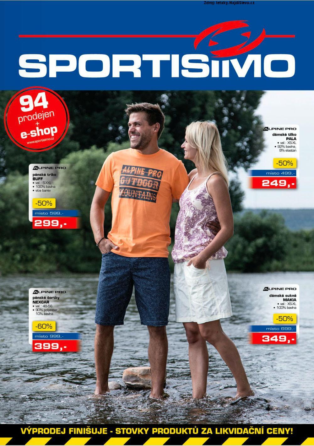 Strana 1 - leták Sportisimo (13. 7. - 26. 7. 2017)