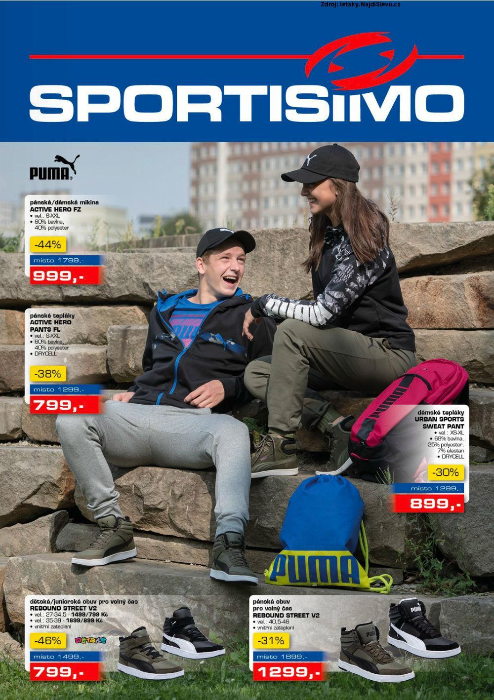 Strana 1 - leták Sportisimo (7. 9. - 20. 9. 2017)