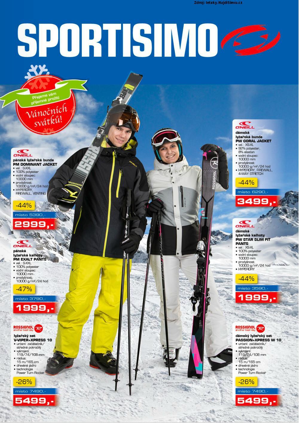 Strana 1 - leták Sportisimo (7. 12. - 20. 12. 2017)