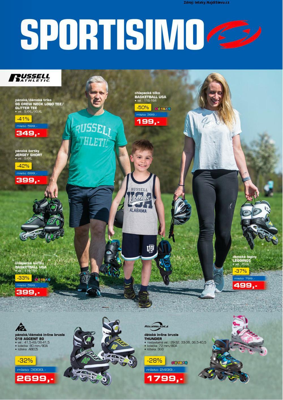 Strana 1 - leták Sportisimo (10. 5. - 23. 5. 2018)
