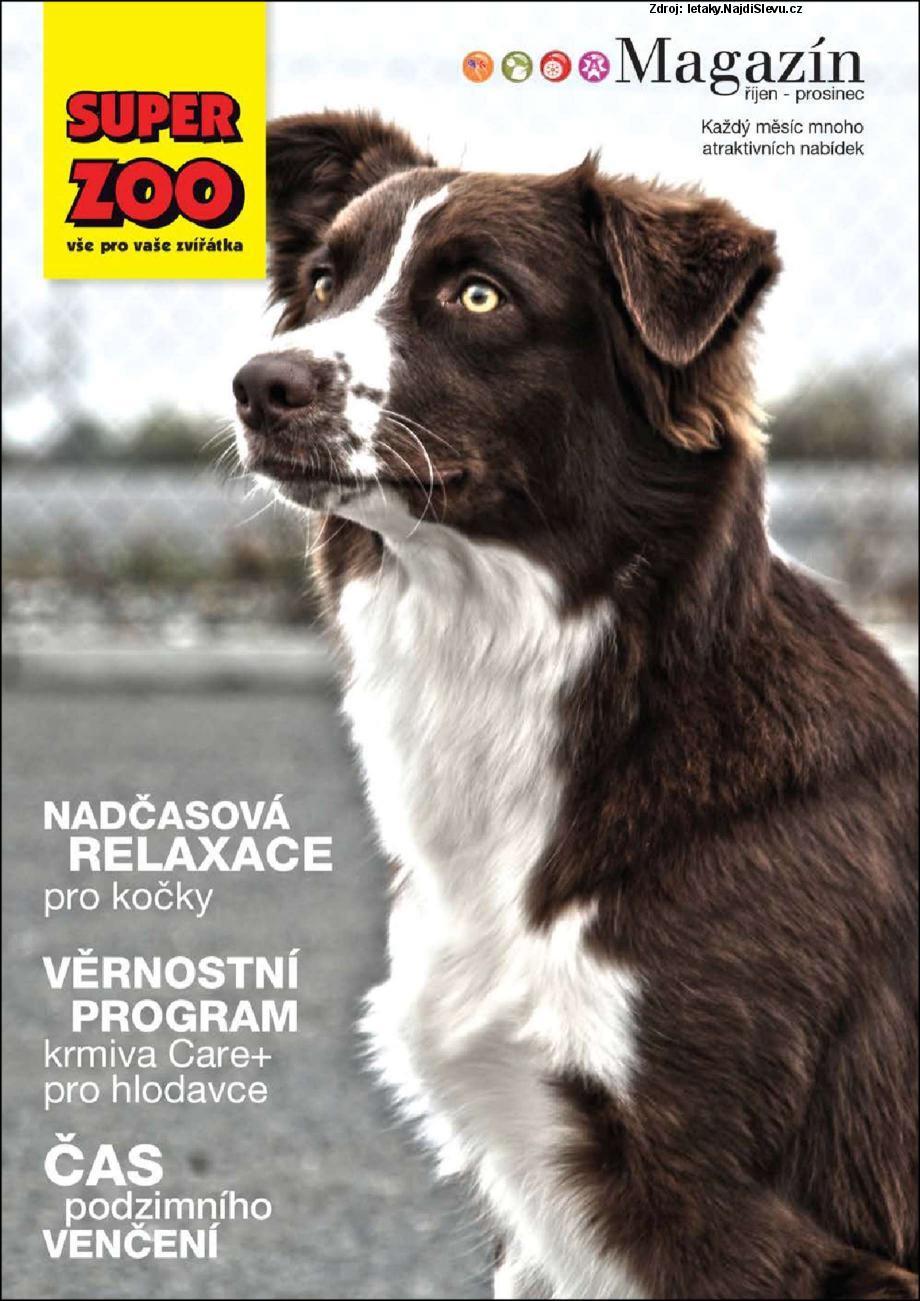 Strana 1 - leták Super Zoo (1. 10. - 31. 12. 2013)