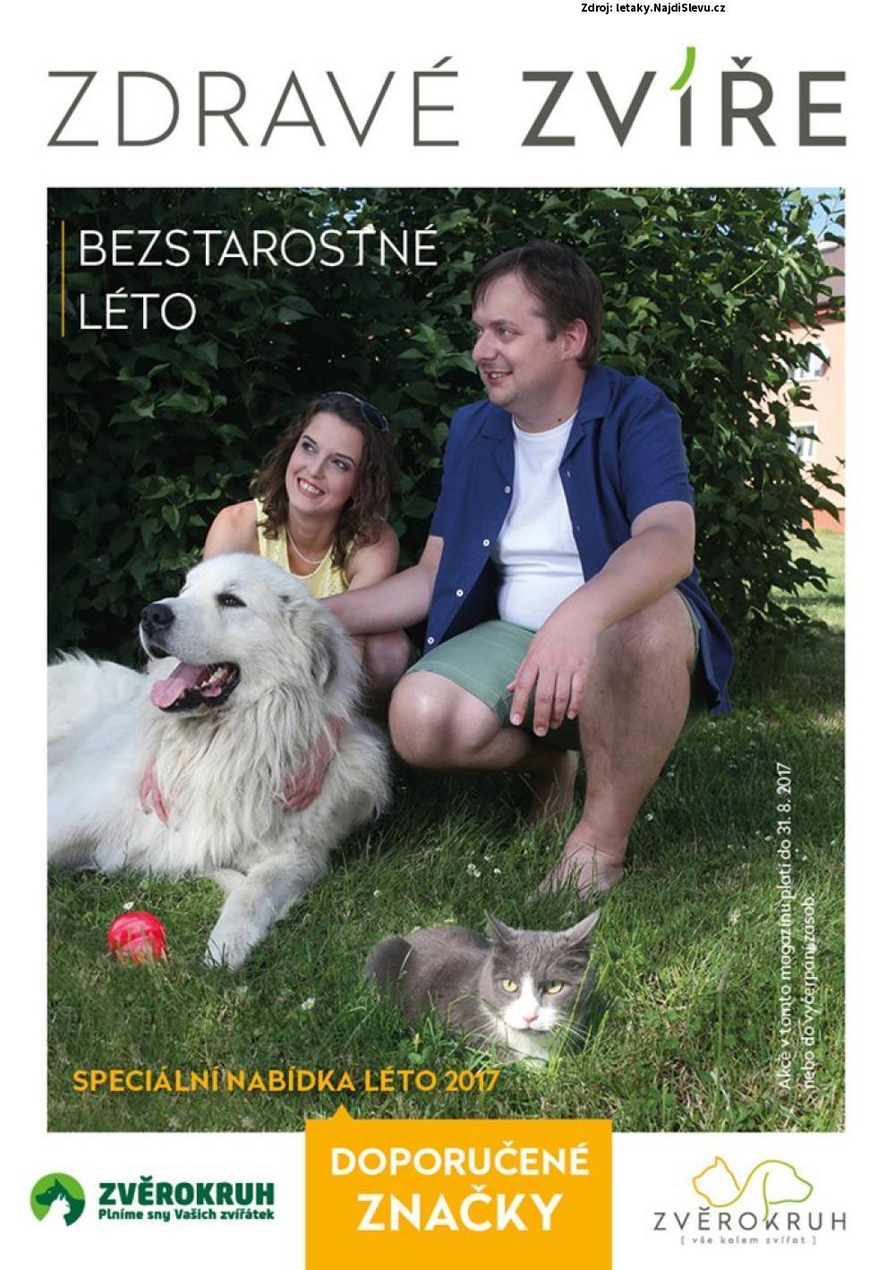 Strana 1 - leták ZVĚROKRUH (1. 7. - 31. 8. 2017)