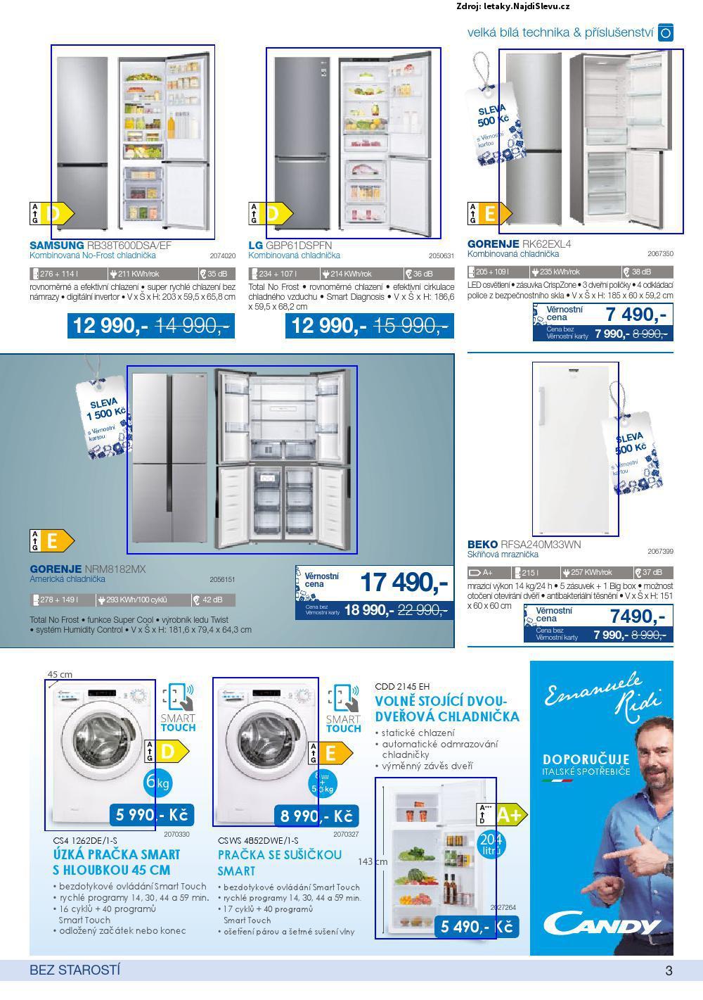 Strana 3 - leták Electro World (25. 2. - 31. 3. 2021)